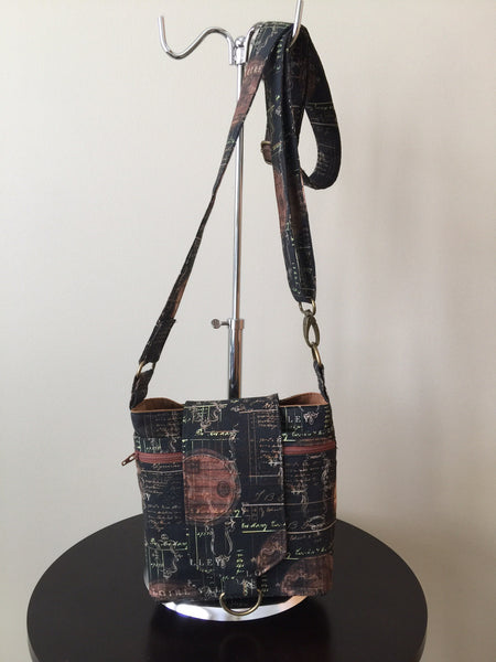 French Traveller Cross-Body Bag