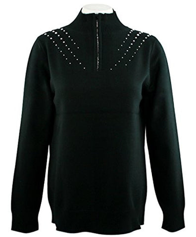 Christine Alexander - Crystal Rain, Sweater Accented with Swarovski Crystals