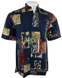 Kahala Sportswear - Isle Tapa, Men's Short Sleeve Hawaiian Style Shirt