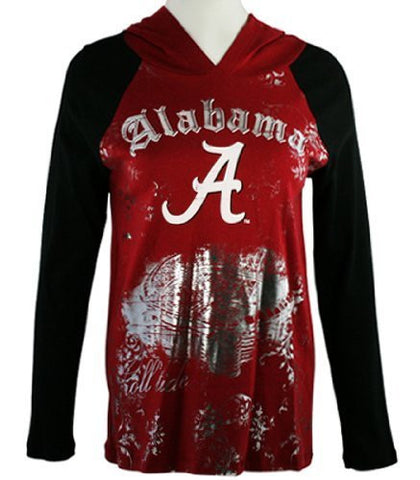 P-Michael Collegiate Apparel - University of Alabama Women's Hoodie Top