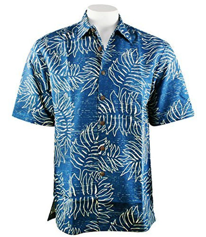 Kahala Sportswear Ahina, Relaxed Fit Match Pocket Short Sleeve Hawaiian Shirt