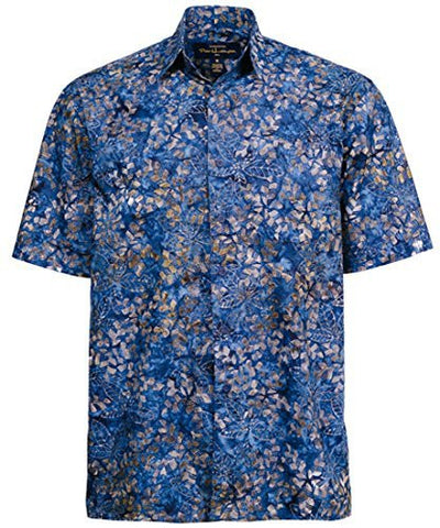 Peter Huntington - Blue Olive Sumatra Island Single Pocket Handcrafted Shirt