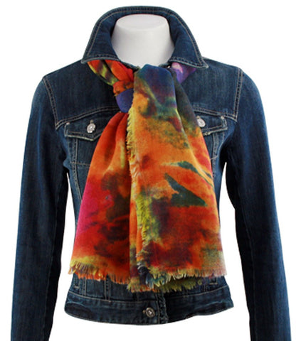 Tolani Watercolors Scarf, Contemporary Fashion Accessory Women's Fashion Scarf