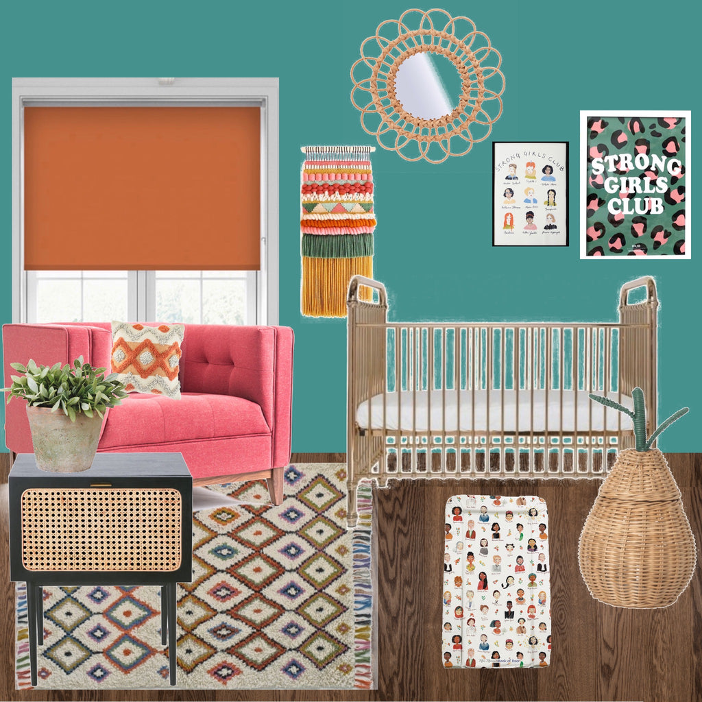 HOW TO DESIGN THE ULTIMATE GIRL POWER NURSERY!
