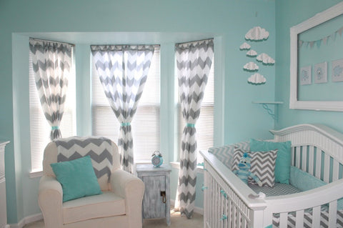 Chevron Nursery Mini Maison Project Nursery