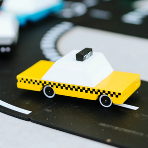 Candylab Toy Yellow Taxi
