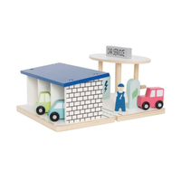 Wooden Car Service Centre
