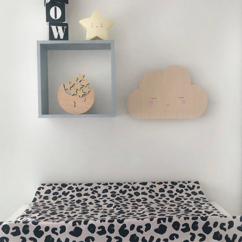 Luxury Leopard Print Changing Mat