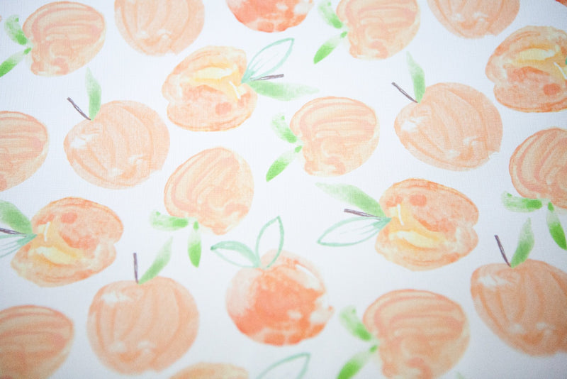 Peach Baby Changing Mat