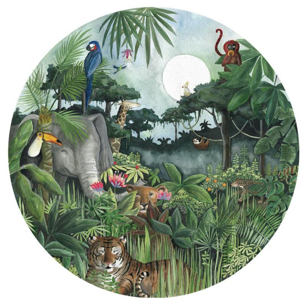 Mighty Jungle Wallpaper Circle