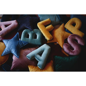 Rose Pink Alphabet (A-Z and &) Letter Cushion