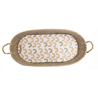 Muted Rainbow Changing Basket Pad