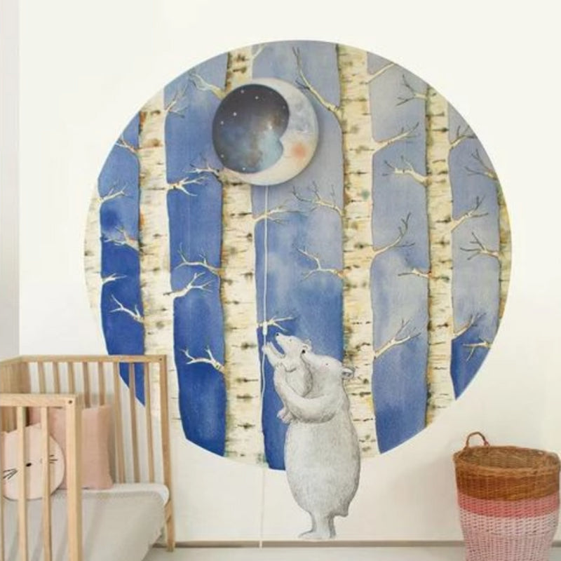 Sweet Dreams Crescent Moon Lampshade