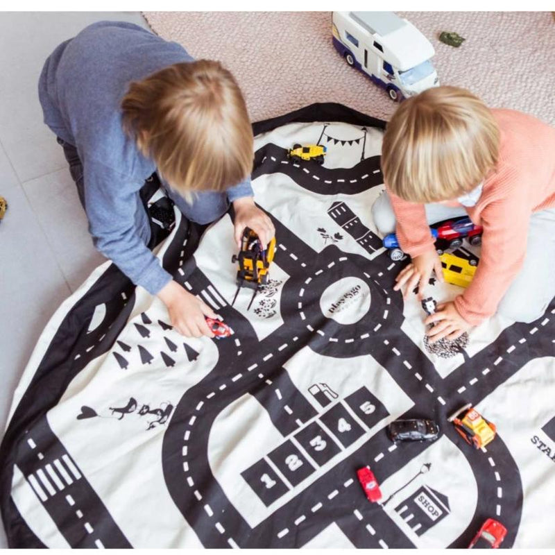 Toy Car Playmat