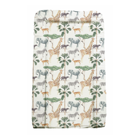 Safari Animal Baby Changing Mat