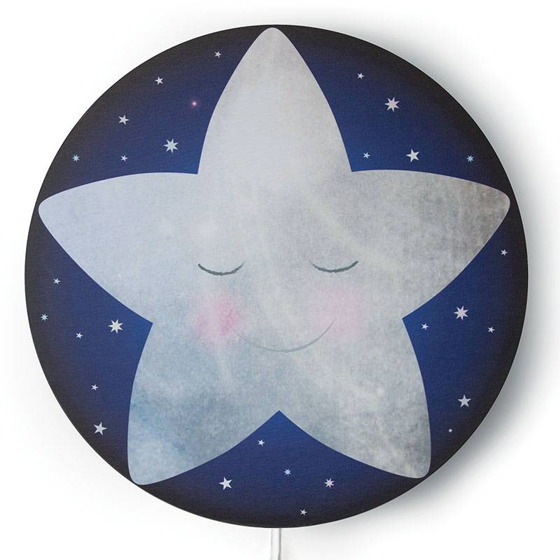 Sleepy Little Star Lampshade
