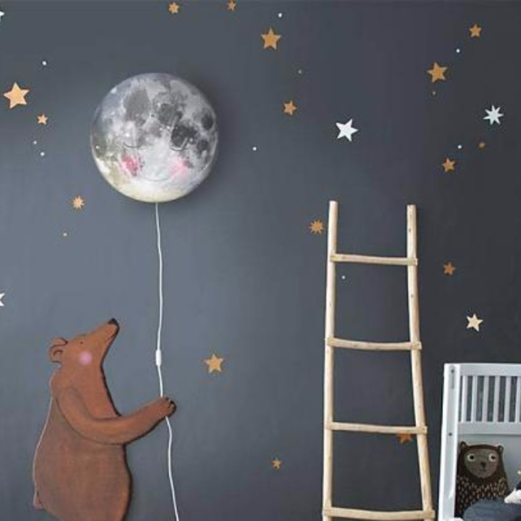 Hartendief Starry Sky Wall Stickers Moon Light