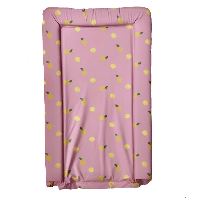 Pink Lemon Girls Baby Changing Mat