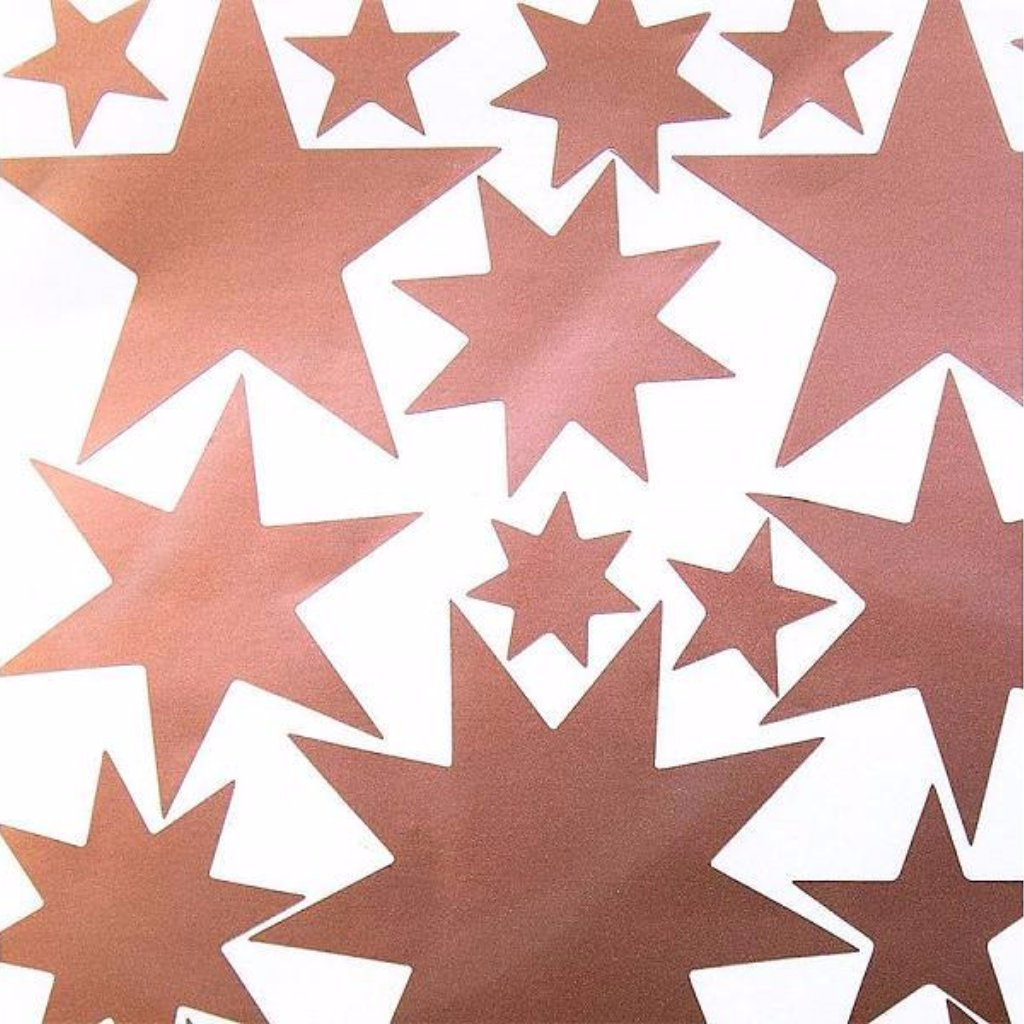 Hartendief Copper Starry Sky Wall Stickers