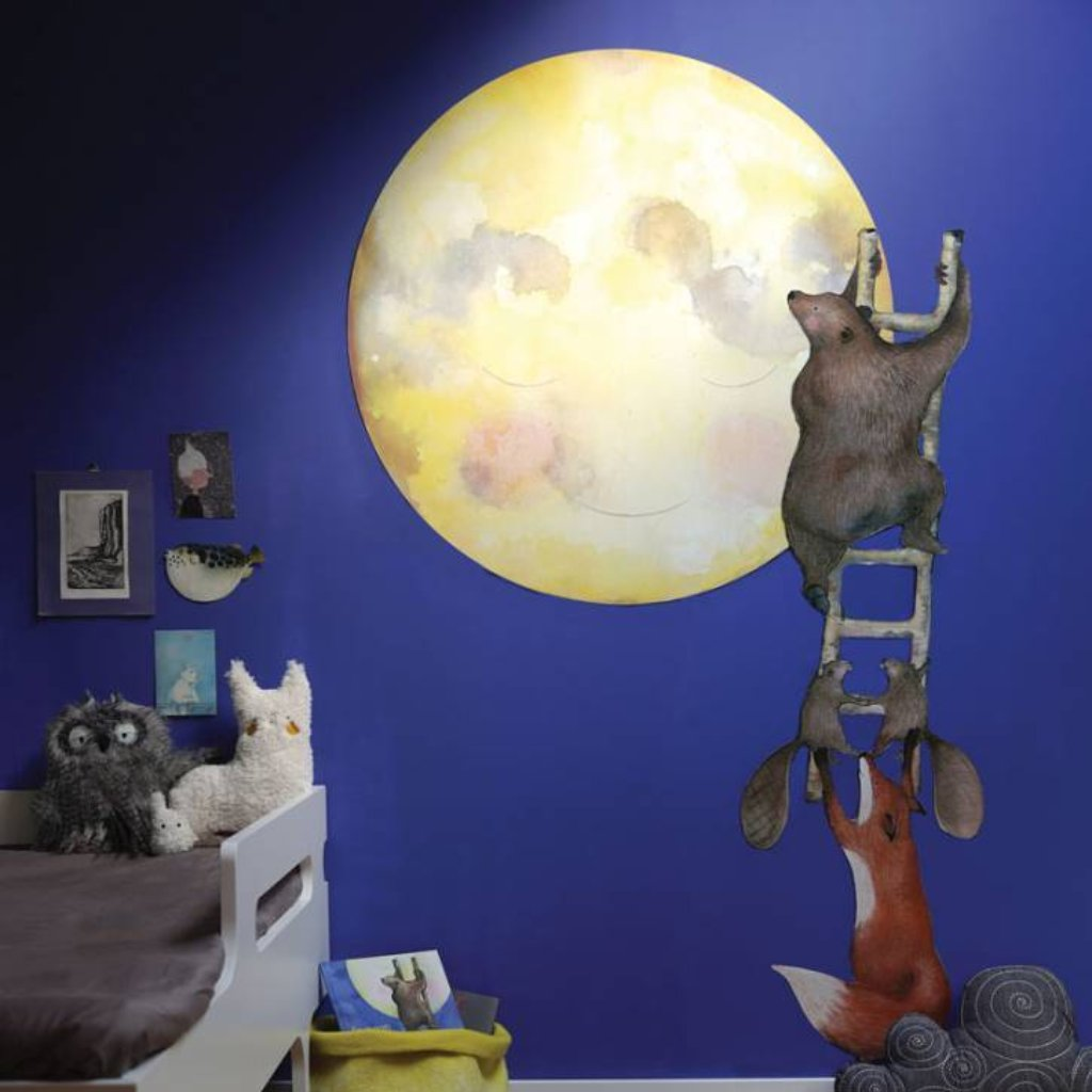 Animals Ladder Wall Sticker