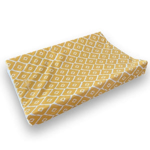 Luxury Mustard Wedge changing mat