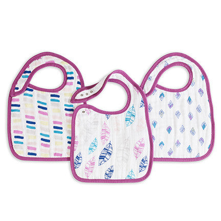 Aden and Anais Snap Bibs - Wink -  - Oh Baby Baby!  - 1