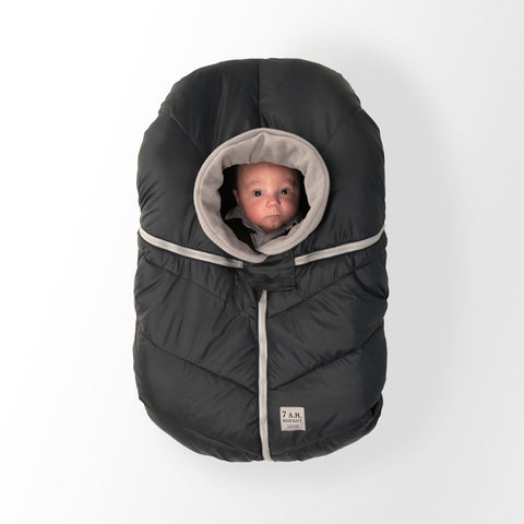 7 A.M. Enfant Cocoon - Black - Oh Baby Baby!  - 1