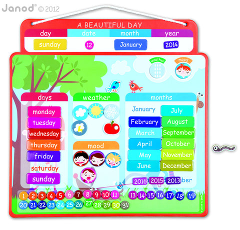 Janod Magnetic Diary -  - Oh Baby Baby!