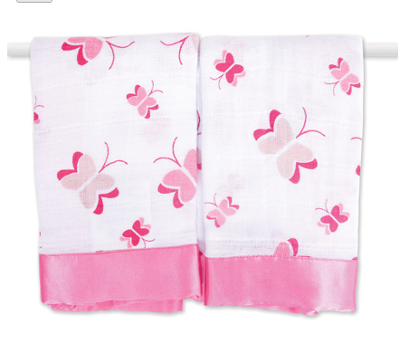 Aden + Anais Issie Security Blanket - Jungle Jam Butterfly -  - Oh Baby Baby!