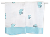 Aden + Anais Issie Security Blanket - Jungle Jam Elephant -  - Oh Baby Baby!