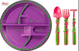 Garden Fairy Plate and Three Piece Utensils -  - Oh Baby Baby!  - 2