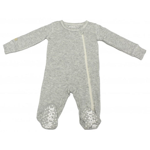 Juddlies - Sleeper in Pale Grey - 0-3 months - Oh Baby Baby!