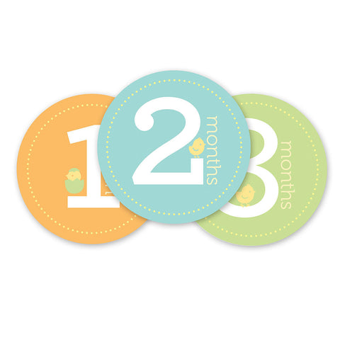 Pearhead First Year Stickers -  - Oh Baby Baby!  - 1