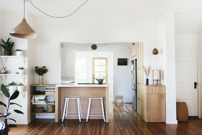 Remodelista features Sarah's home, complete with ceramic touches everywhere