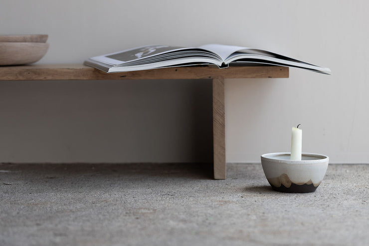 Cradle Candle Bowl
