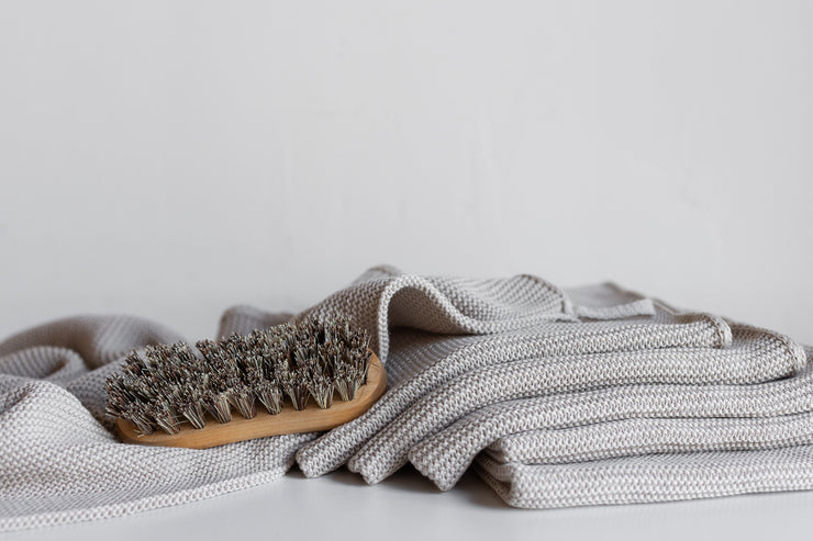 Organic Knitted Cotton Towel