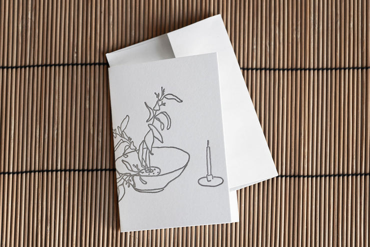 Notary Letter Pressed Greeting Cards