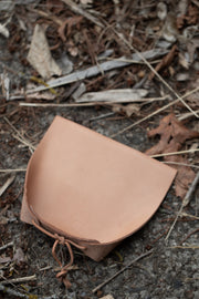 Handmade Leather Dustpan