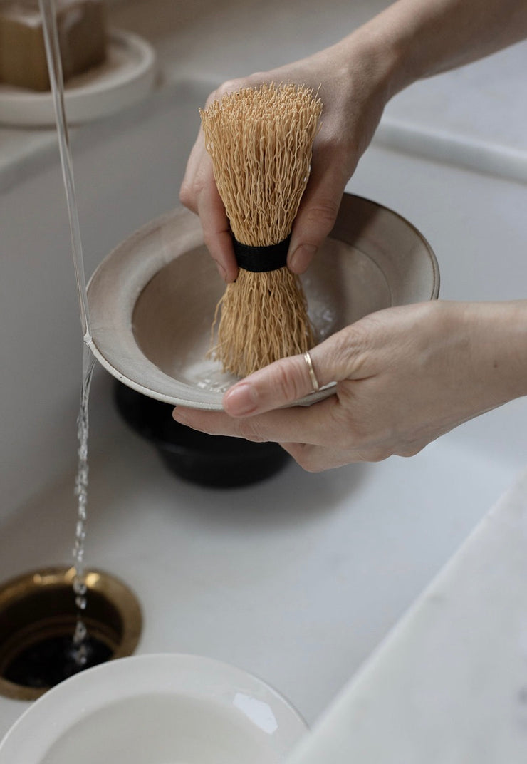 Natural Dishwashing Whisk