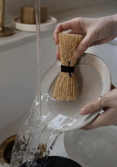 Natural Dishwashing Scrubber