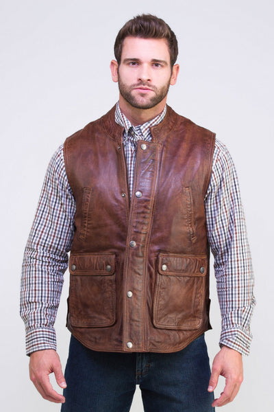 Feather lite Lambskin Vest