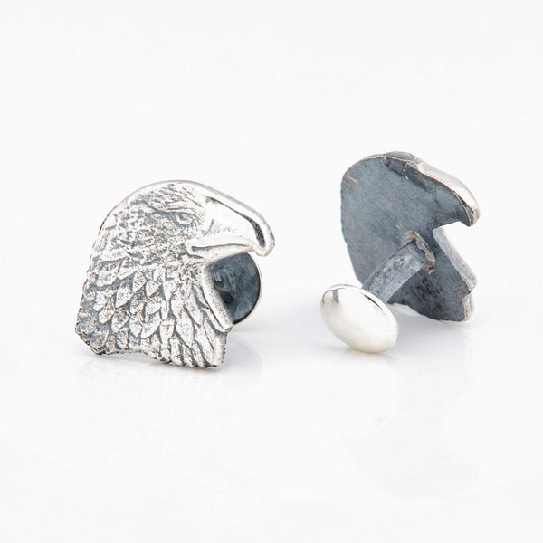 Eagle Sterling Silver Cufflinks
