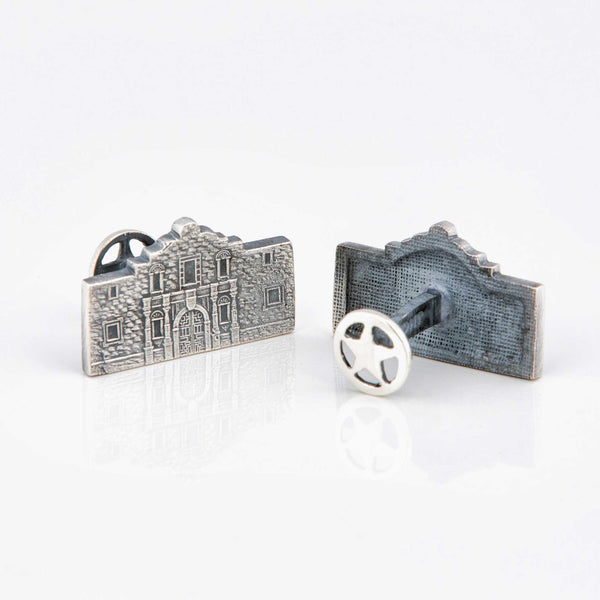 The Alamo Sterling Silver Cufflinks