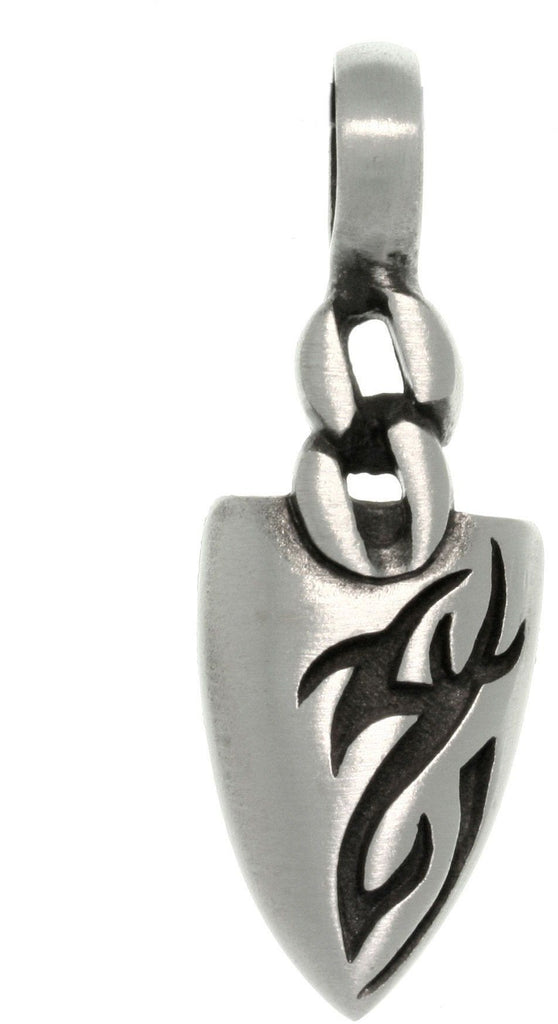 Jewelry Trends Pewter Tribal Tattoo Design Arrowhead Pendant