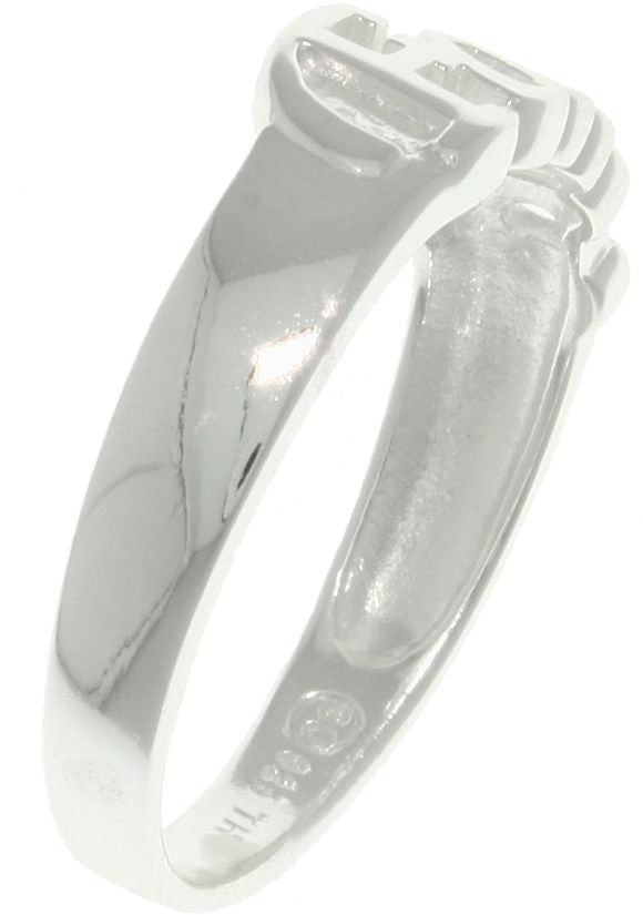 Carolina Glamour Collection Jewelry Trends Sterling Silver Celtic Trinity Knot Band Ring Size 7
