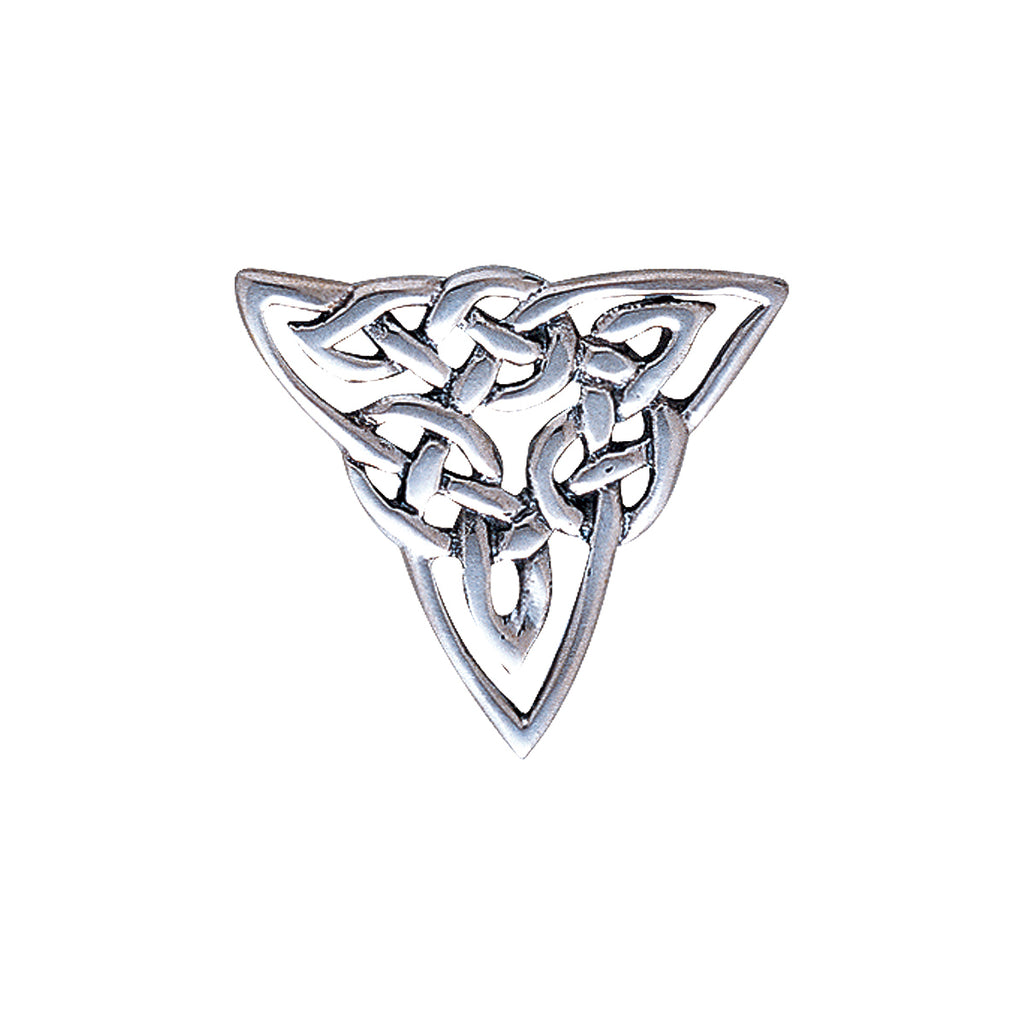 Jewelry Trends Sterling Silver Celtic Trinity Knot Brooch Pin