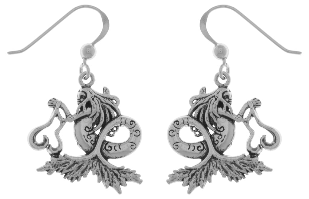 Jewelry Trends Sterling Silver Sea Mermaid Dangle Earrings Artist Amy Brown