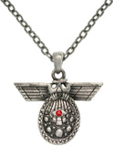 Jewelry Trends Pewter Egyptian Deity of Intelligence Unisex Pendant with 24 Inch Chain Necklace