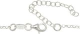 Jewelry Trends Sterling Silver and Ruthenium Two-tone Intertwined Circles Necklace