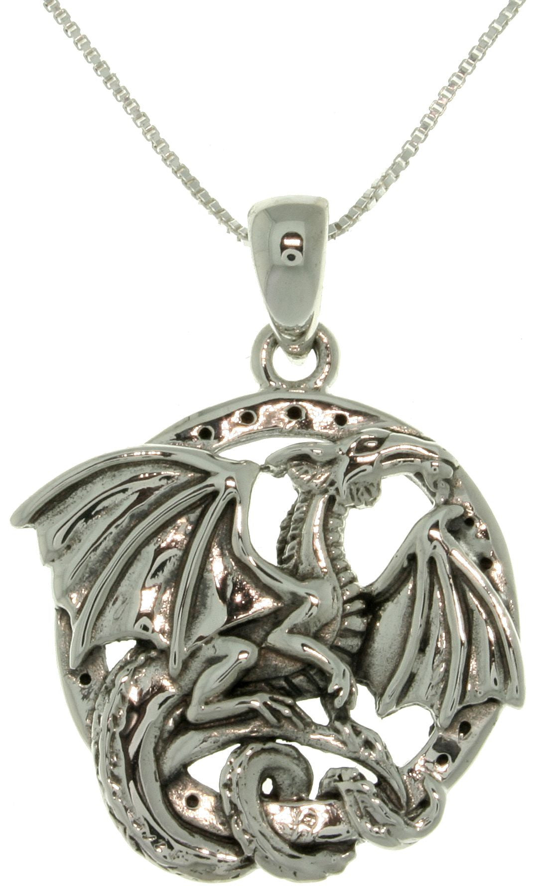 Jewelry Trends Sterling Silver Jody Bergsma Dragon Necklace